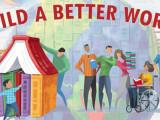 build a better world art